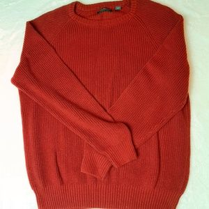 Consensus Cotton Cable Knit Oversized Sweater XL